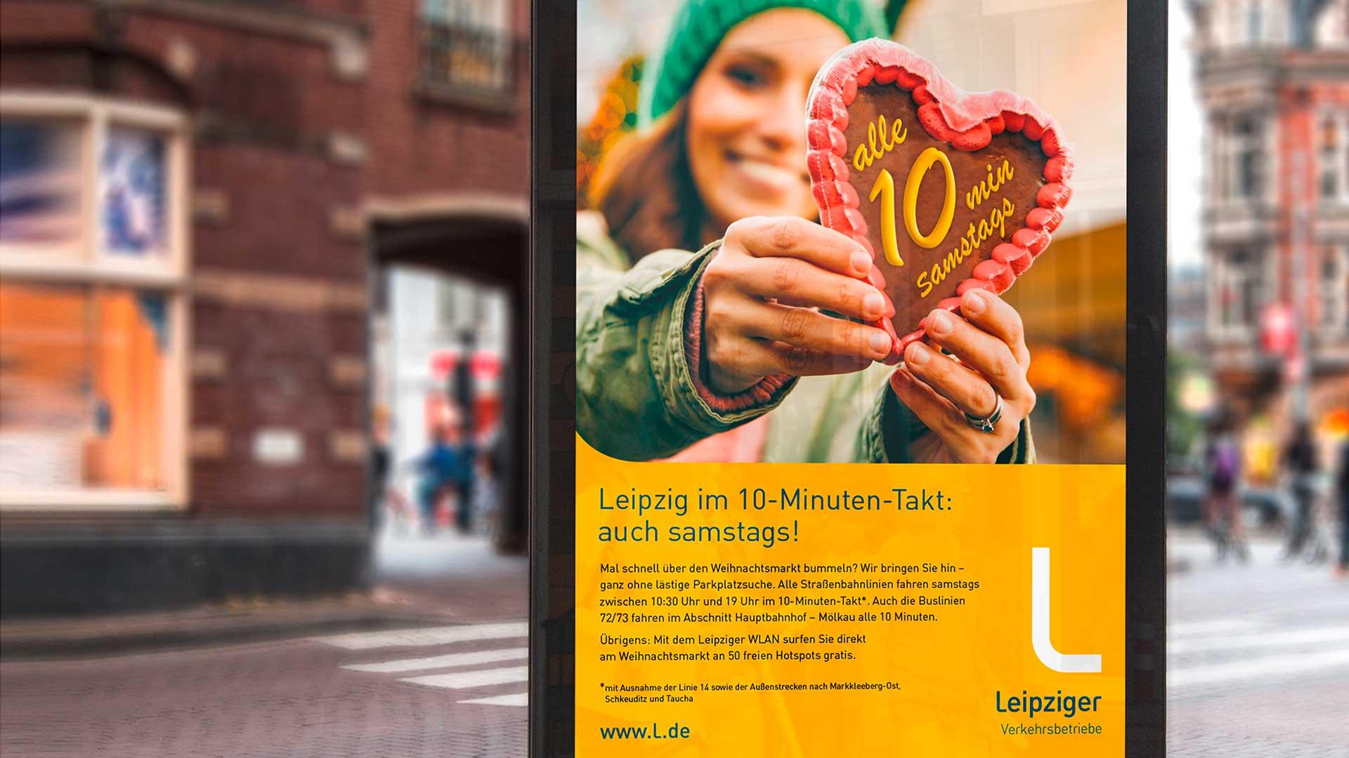 Leipzig im 10-Minuten-Takt