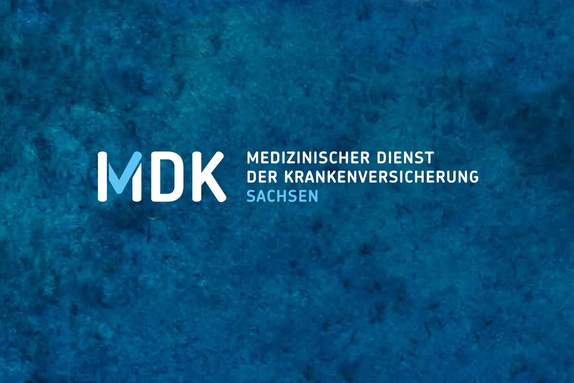 Logo des MDK Sachsen
