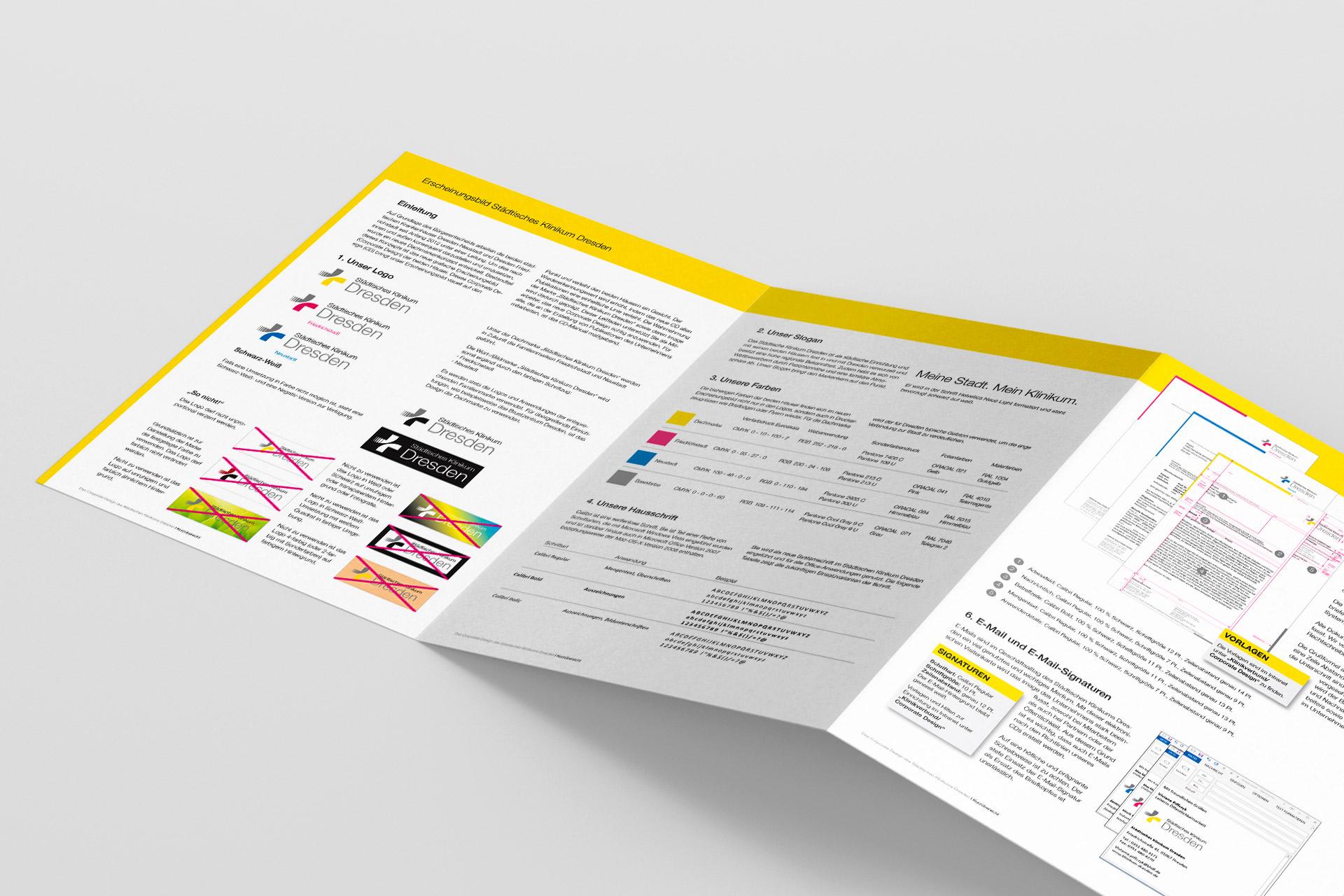 Corporate Design Handbuch Städtisches Klinikum Dresden