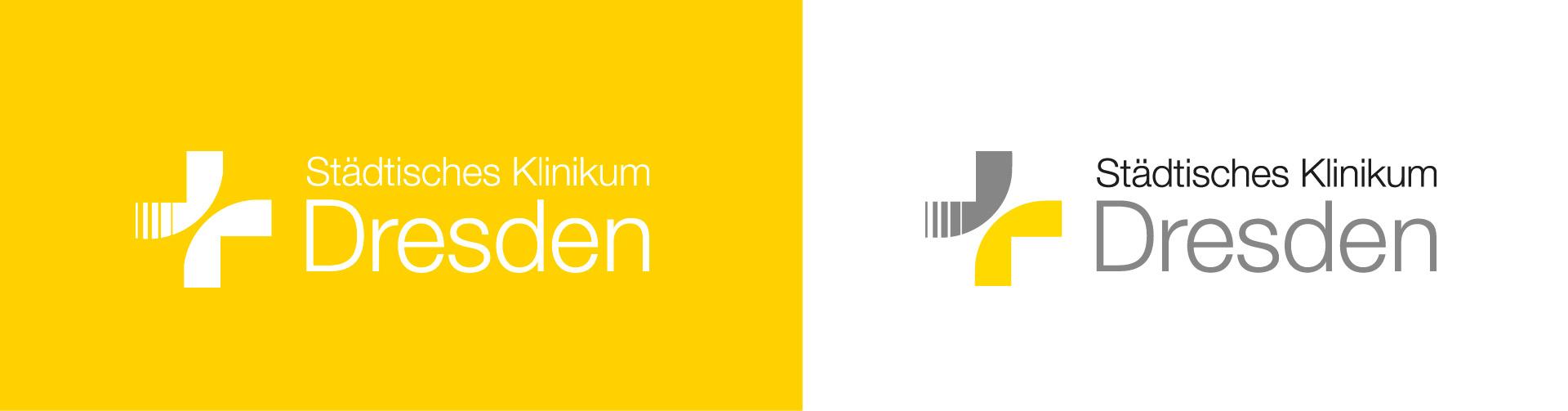 Logoentwicklung der Dachmarke Städtisches Klinikum Dresden