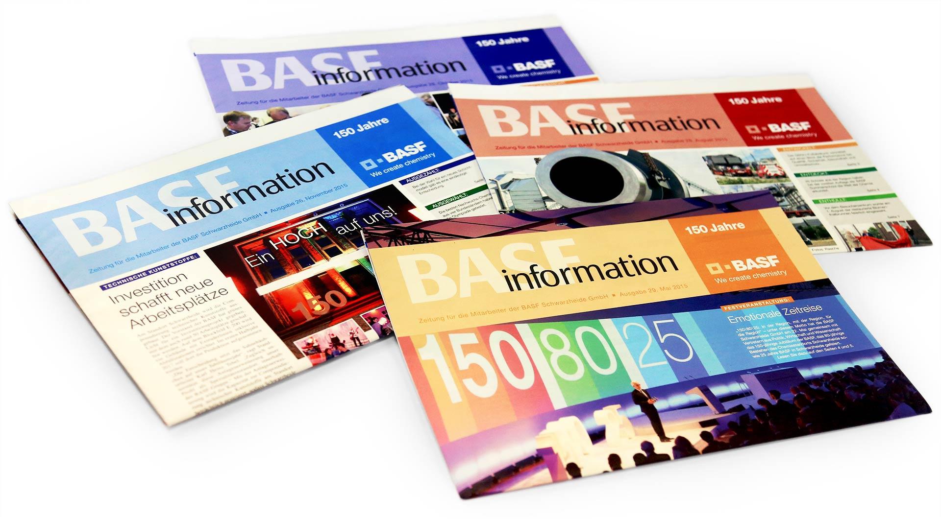 BASF Mitarbeiterzeitung Information
