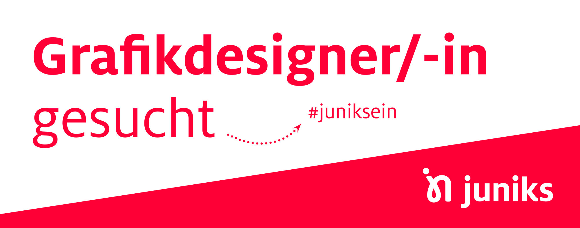 Grafikdesigner/-in gesucht