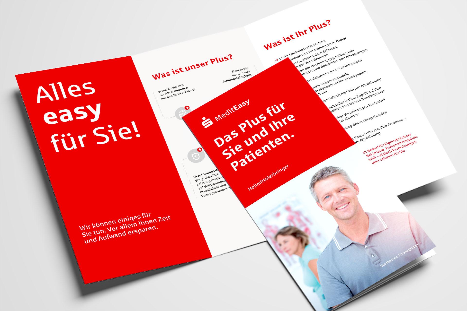 'Flyer-MeditEasy für Patienten