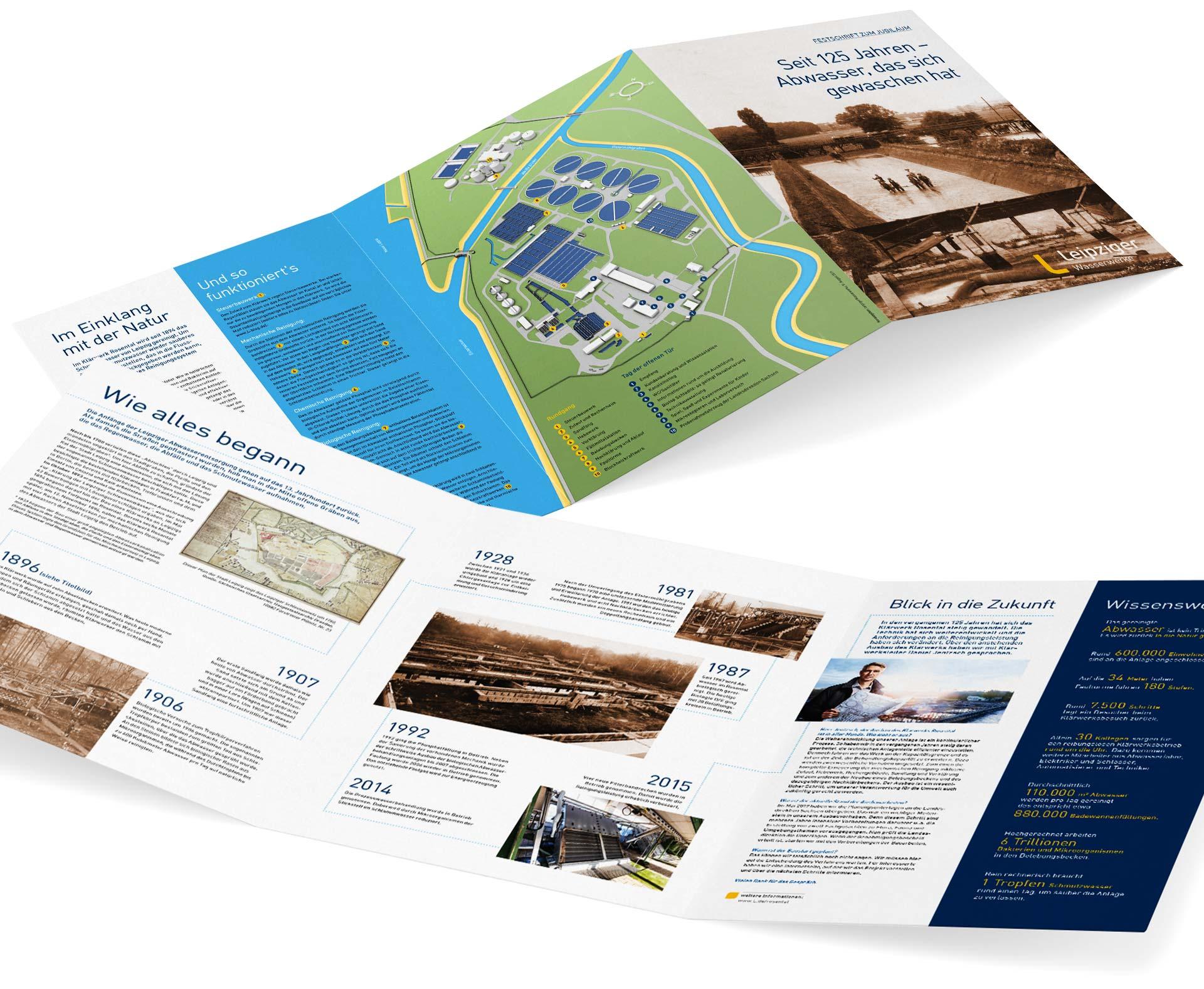 Festschrift zur Historie des Klärwerks Rosental