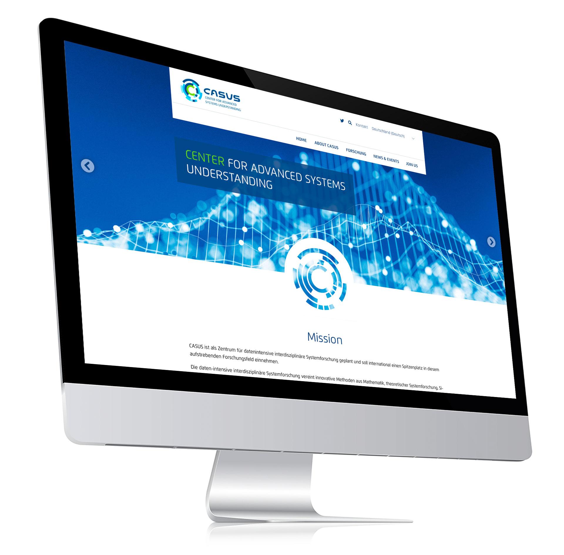 CASUS Website Mock-up
