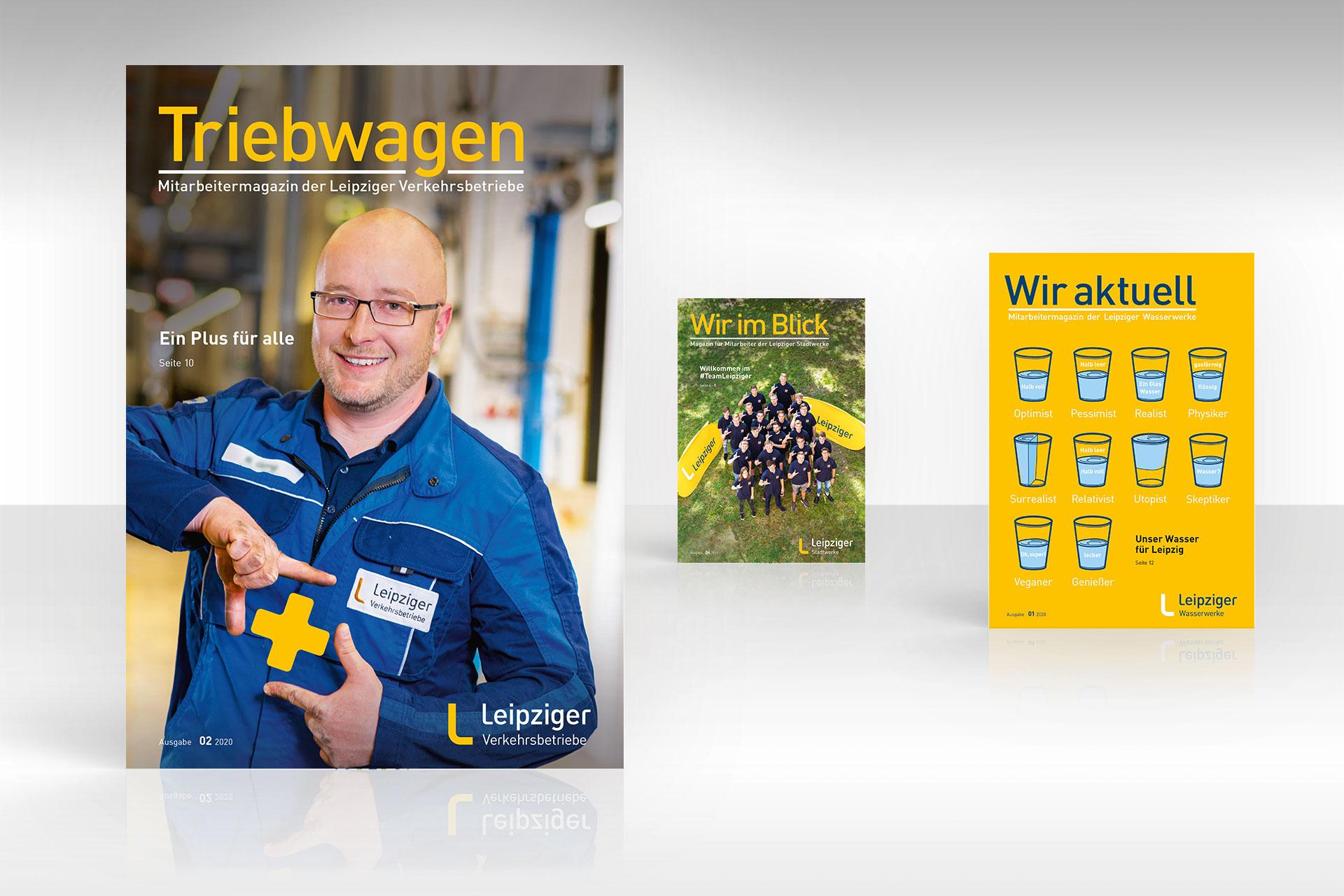 Leipziger Gruppe Mitarbeiterzeitungen