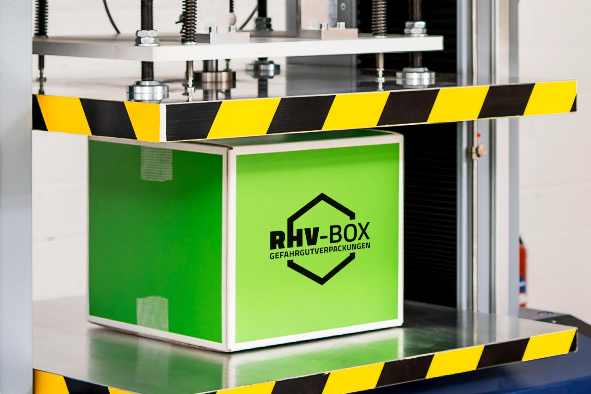 richter & heß Fotoshootings mit RHV-Box-Logo-Visualisierung