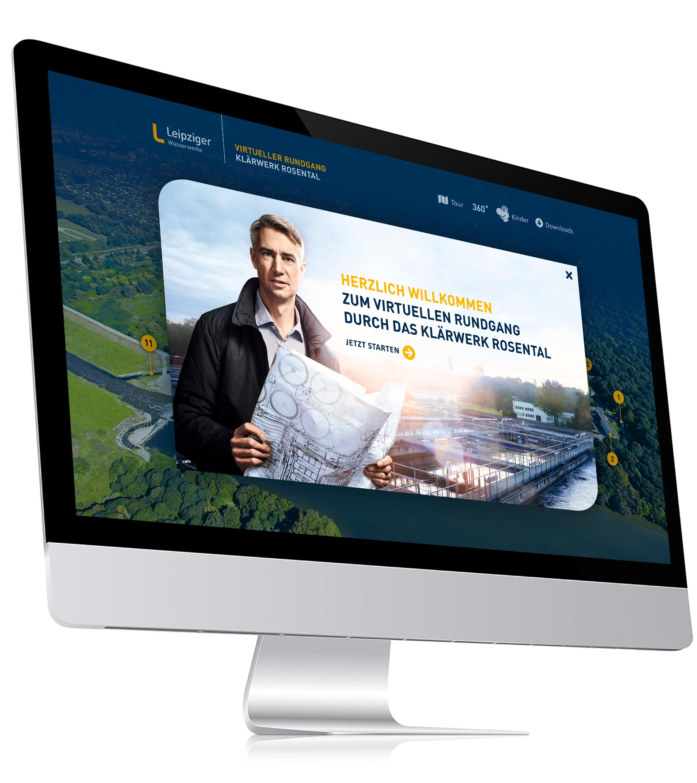 Virtueller Rundgang iMac-Mockup