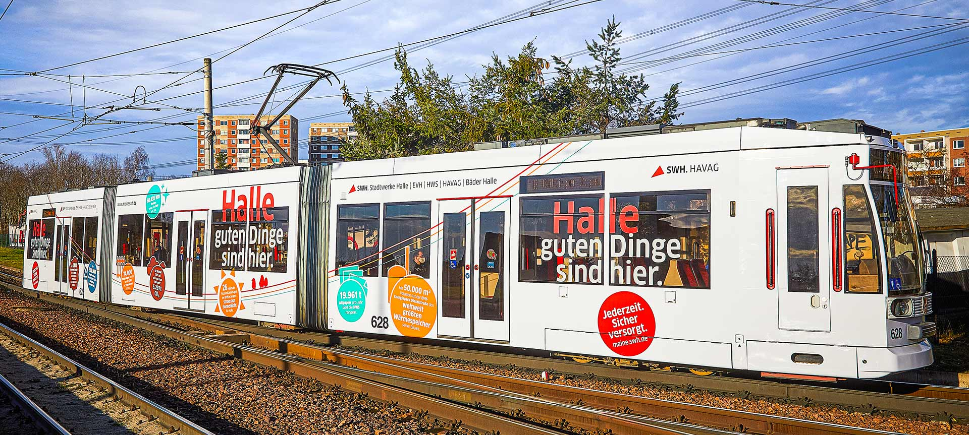 Straßenbahn Stadtwerke Halle