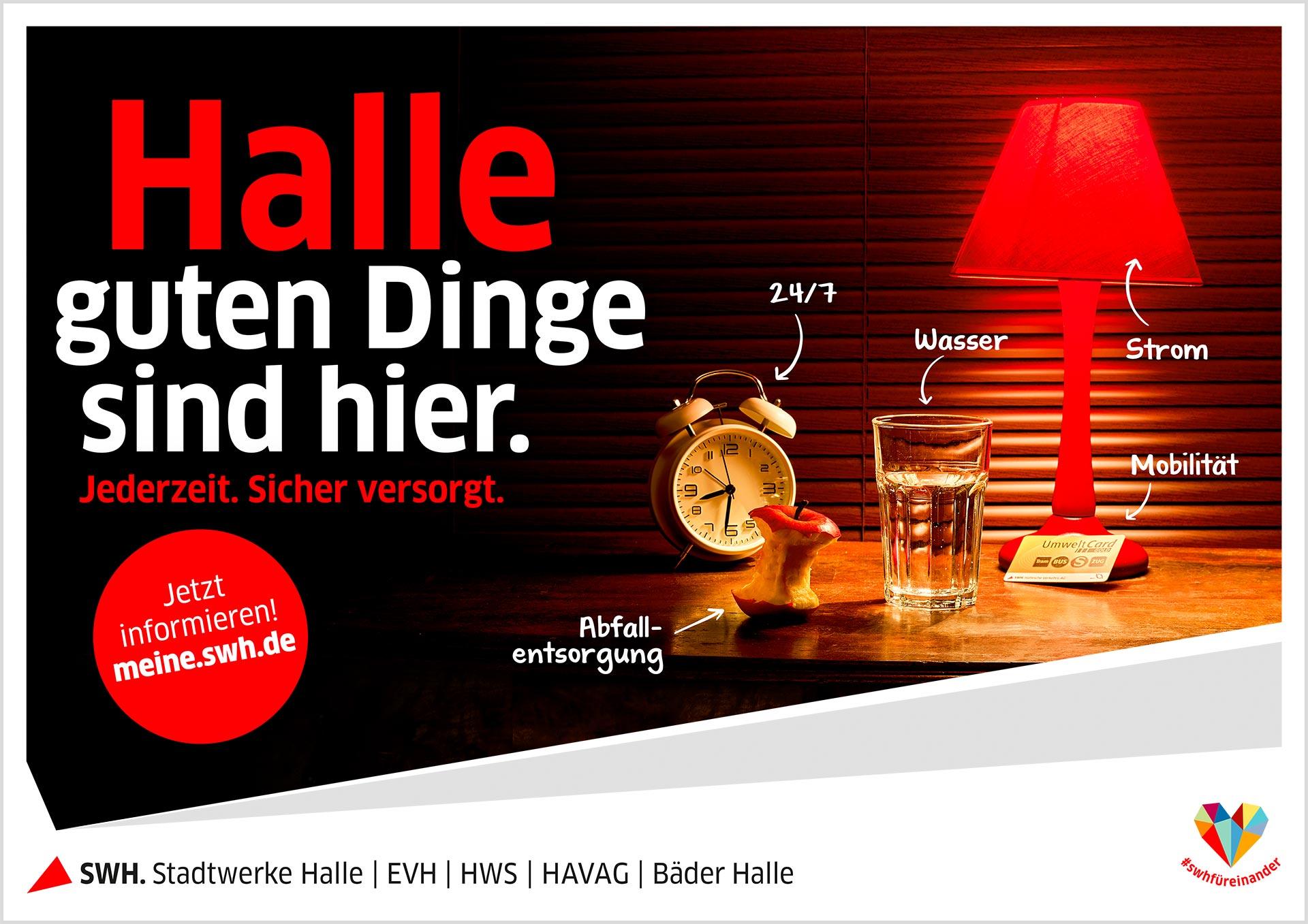 Anzeige Stadtwerke Halle