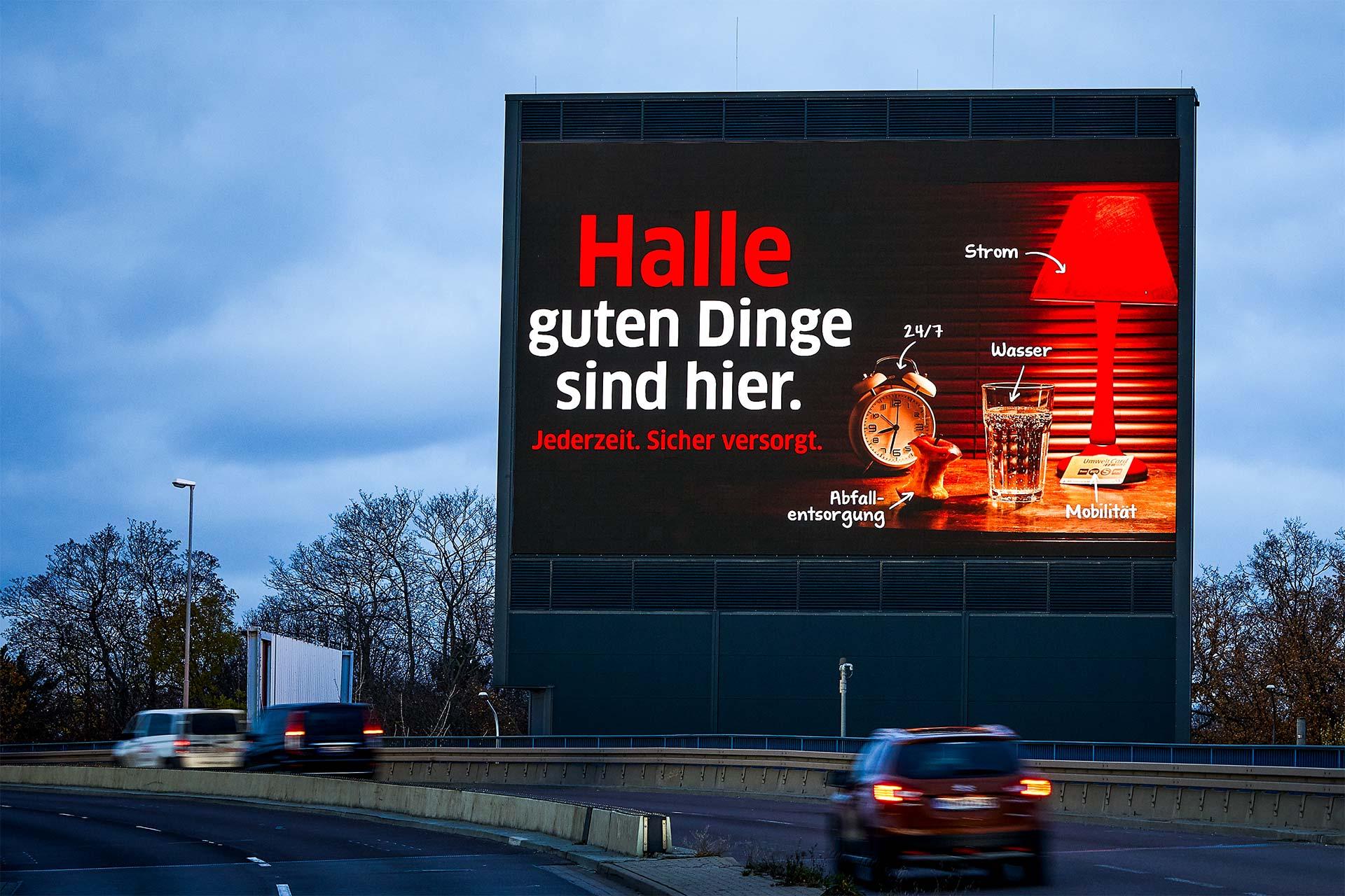 City Light Stadtwerke Halle